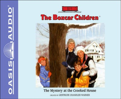 The Mystery at the Crooked House Unabridged Audiobook on CD  -     By: Gertrude Chandler Warner