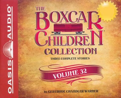 The Boxcar Children Collection Volume 32: The Ice Cream Mystery, The Midnight Mystery, The Mystery in the Fortune Cookie Unabridged Audiobook on CD  -     By: Gertrude Chandler Warner