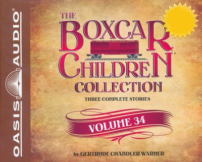 The Boxcar Children Collection Volume 34: The Mystery of the Haunted Boxcar, The Clue in the Corn Maze, The Ghost of the Chattering Bones - unabridged audiobook on CD  -     By: Gertrude Chandler Warner