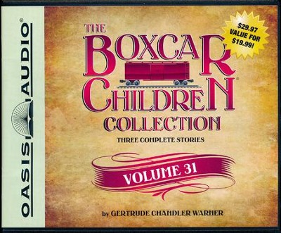 The Boxcar Children Collection Volume 31: The Mystery at Skeleton Point, The Tattletale Mystery, The Comic Book Mystery - unabridged audiobook on CD  -     By: Gertrude Chandler Warner