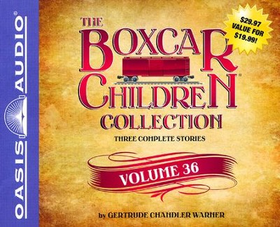 The Boxcar Children Collection Volume 36: The Vanishing Passenger, The Giant Yo-Yo Mystery, The Creature in Ogopogo Lake: unabridged audiobook on CD  -     By: Gertrude Chandler Warner