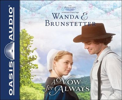 A Vow for Always Unabridged Audiobook on CD  -     By: Wanda E. Brunstetter & Heather Henderson (Narrator)