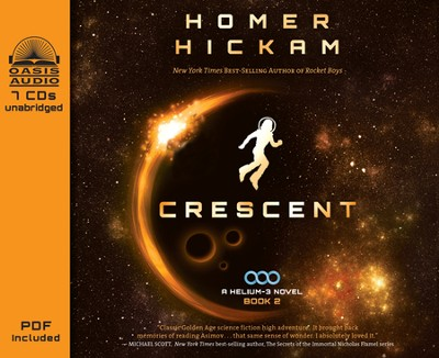 Crescent Unabridged Audiobook on CD  -     By: Homer Hickam