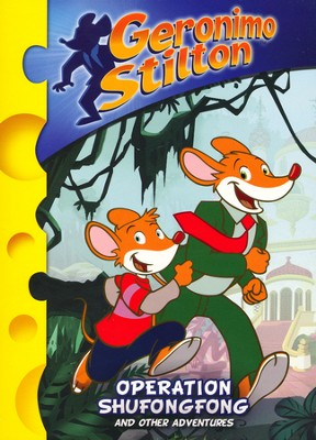 Geronimo Stilton: Operation Shufongfog and Other Adventures, DVD   -