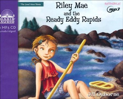 Riley Mae and the Ready Eddy Rapids - unabridged audiobook on MP3-CD  -     By: Jill Osborne