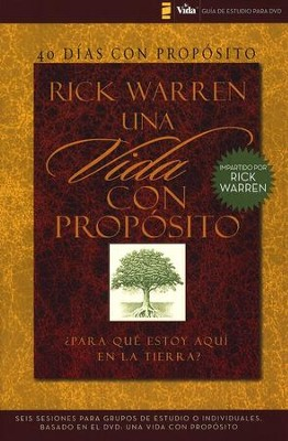40 Días con Propósito, Guía de Estudio para DVD  (Purpose Driven Life DVD Study Guide)  -     By: Rick Warren