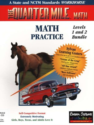 Quarter Mile Math (Bundle) Grades K-6   -     By: Software