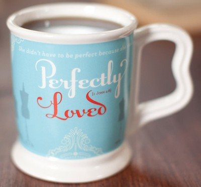 Perfectly Loved Mug, Heart to Heart Collection  -     By: Holley Gerth