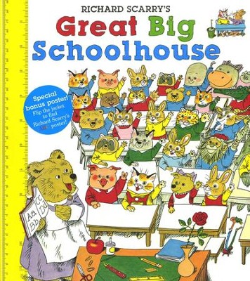 Richard Scarry's Great Big Schoolhouse  -     By: Richard Scarry