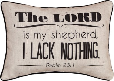 The Lord Is My Shepherd Pillow  -