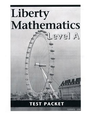 Liberty Mathematics Level A Test, Grade 1   -