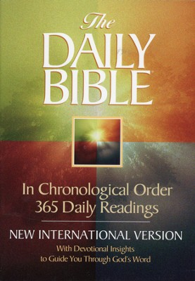 NIV Daily Bible: In Chronological Order Softcover - Slightly Imperfect  -