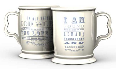 I Am Redeemed, Remade, Transformed Pillar Mug  -