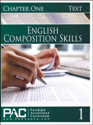 PAC English 2: Composition Skills Student Text, Chapter 1   -