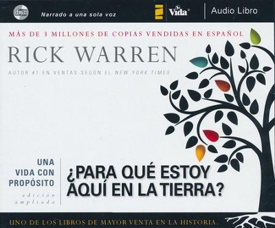 ¿Para Qué Estoy Aquí en la Tierra? Audiolibro  (What On Earth Am I Here For? Audiobook)  -     By: Zondervan