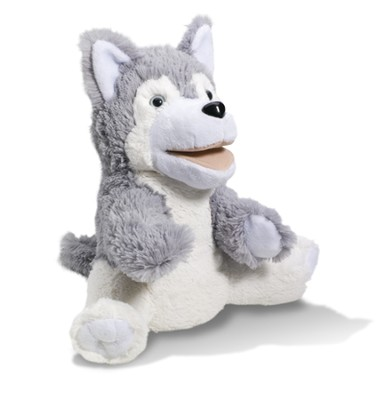 Harley the Huskey Puppet   -