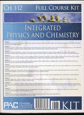 Integrated Physics & Chemistry Full Course Kit   -
