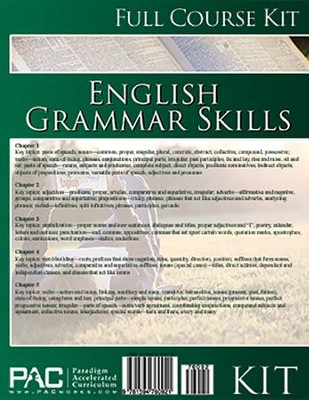 English Grammar Skills Full Course Kit   -