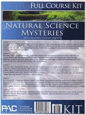 Natural Science Mysteries Full Course Kit   -