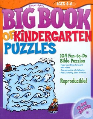 Big Book of Kindergarten Puzzles  -