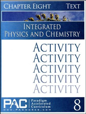 Integrated Physics and Chemistry Activity Booklet, Chapter 8  - Slightly Imperfect  -