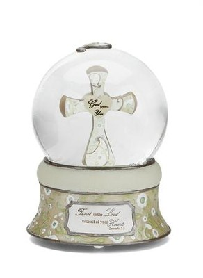 Trust in the Lord Water Globe  -