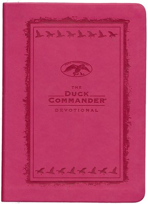 The Duck Commander Devotional Pink LeatherTouch  -     By: Alan Robertson