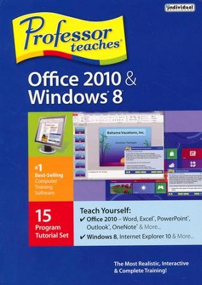 Professor Teaches Office 2010 & Windows 8 on CD-Rom   -