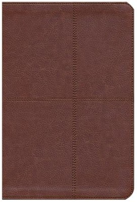 Biblia Bilingue NIV/RVR 1960, Piel Ital. Dos Tonos, Marron  (NIV/RVR 1960 Bilingual Bible, Ital. Duo-Tone Leather, Brown)  -     By: Zondervan