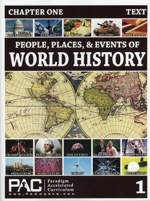 People, Places & Events of World History--Full Course Kit  -