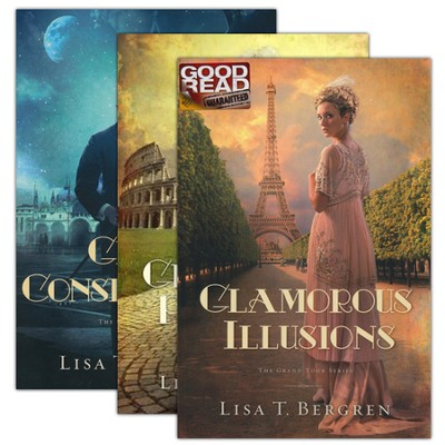 Grand Tour Series, Volumes 1-3  -     By: Lisa T. Bergren