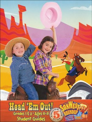 SonWest Roundup: Head 'Em Out! - Ages 6 to 8 / Grades 1 & 2 - Slightly Imperfect  -