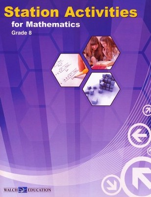 Station Activities for Math Grade 8   -