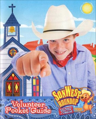 SonWest Roundup: Volunteer Pocket Guide - Pkg of 10  -