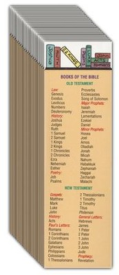 Books of the Bible Bookmarks, 25   -