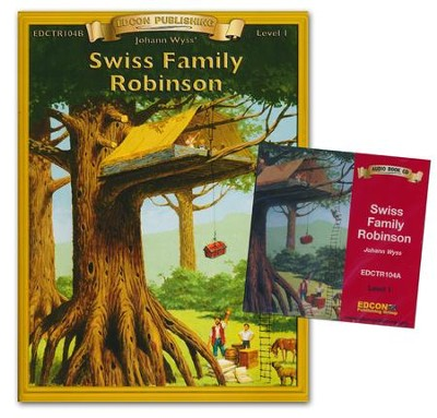 Swiss Family Read-Along Book and CD  -