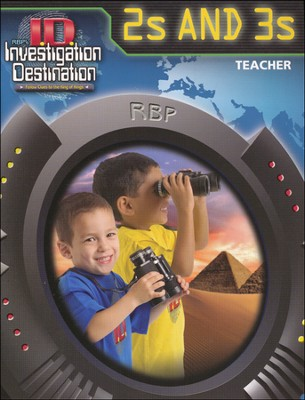 2s & 3s Teacher Book, KJV  -
