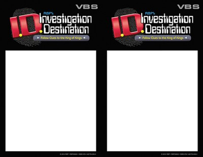 Theme Invitation Fliers, pack of 50   -