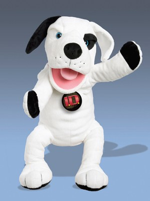 Track the Dog Puppet  -
