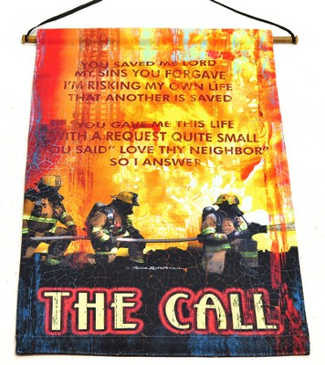 The Call, Firefighters Wallhanging  -     By: Patrick Reid O'Brien