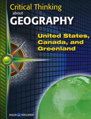 Critical Thinking About Geography Series, 3 Volumes   -