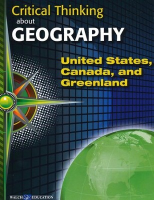 Critical Thinking about Geography: United States, Canada, and Greenland  -