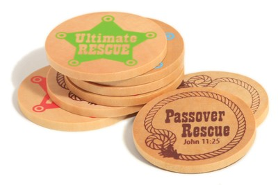 SonWest Roundup: Wooden Coins-Pkg of 25  -
