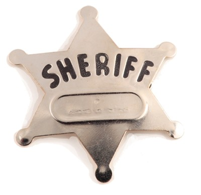 SonWest Roundup: Sheriff Badge-Pkg of 12  -