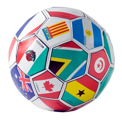 Small International Soccer Balls (package of 12)   -