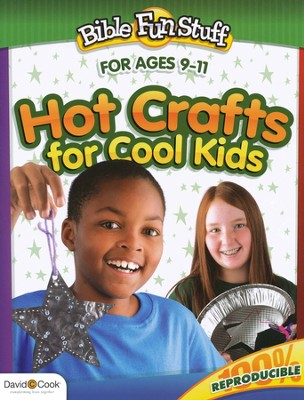 Hot Crafts for Cool Kids--Ages 9 to 11   -