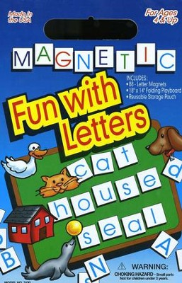 Magnetic Fun with Letters   -