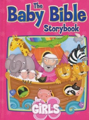 The Baby Bible Storybook for Girls   -