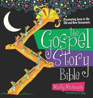 The Gospel Story Bible: Discovering Jesus in the Old  and New Testaments  -     By: Marty Machowski     Illustrated By: A.E. Macha