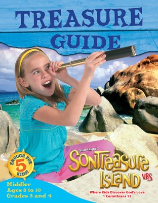 VBS 2014 SonTreasure Island - Treasure Guide: Middler (Grades 3-4/Ages 8-10)   -